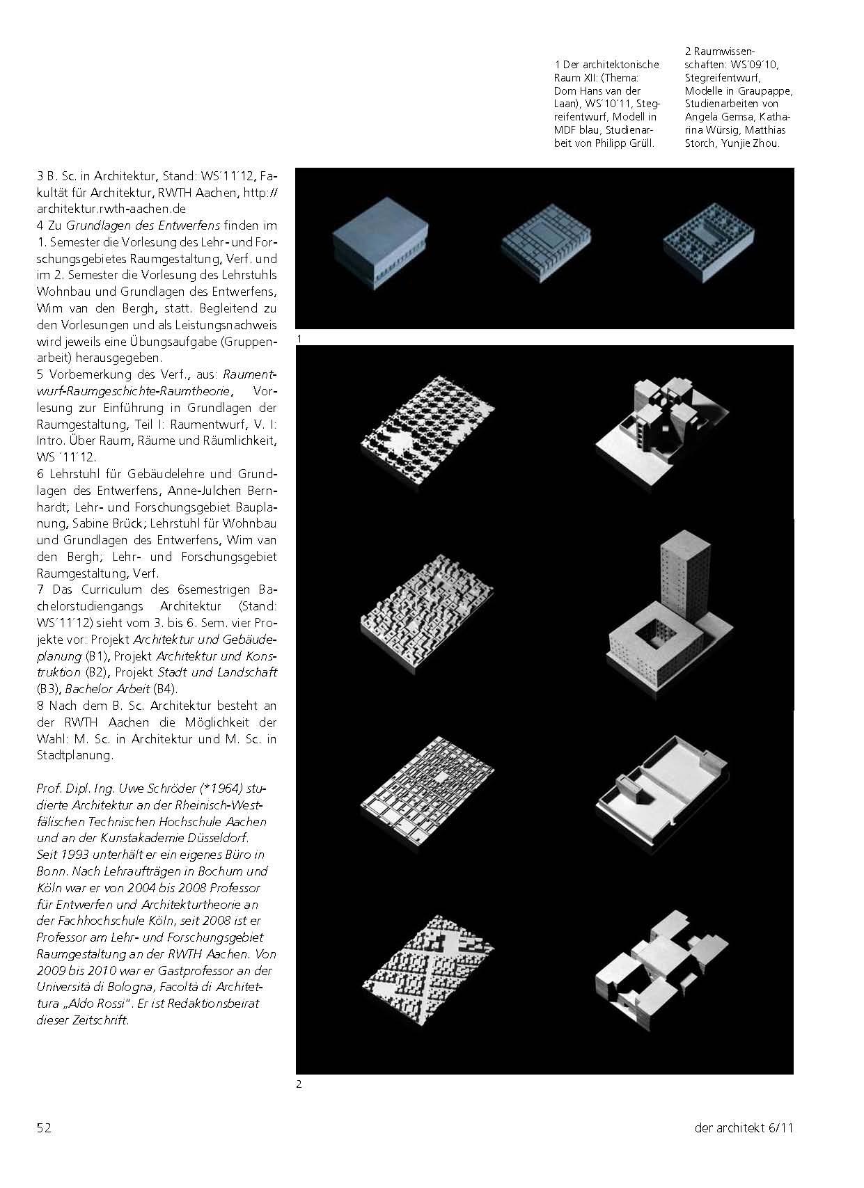Raumgestaltung rwth ba vorlesung zur einf hrung in for Raumgestaltung grundlagen