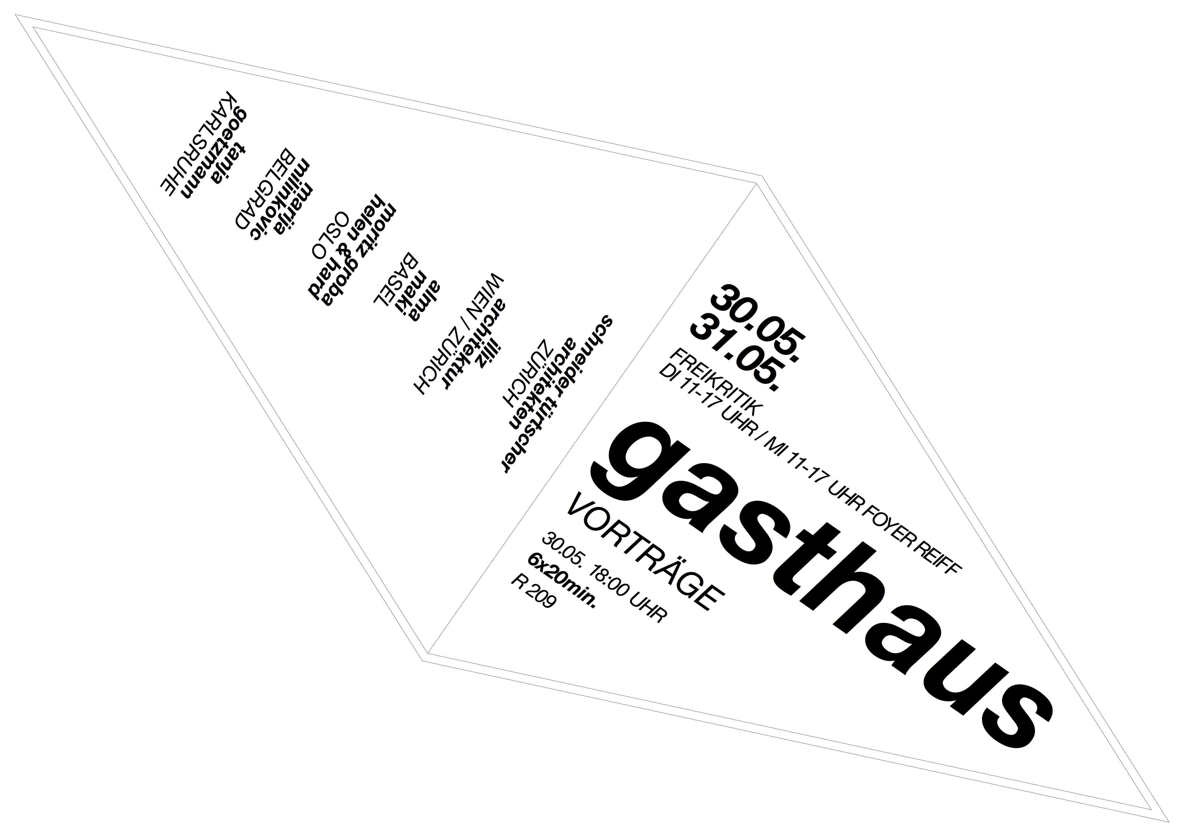 Raumgestaltung rwth gasthaus 2017 offene for Raumgestaltung 2017